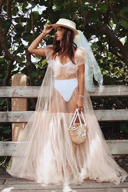 plate-dlya-svadby-na-more-6-451x676 Платье для свадьбы на море, картинка, фотография