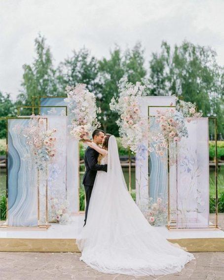 oformlenie-svadby-v-morskom-stile-18-454x567 Оформление свадьбы в морском стиле, картинка, фотография