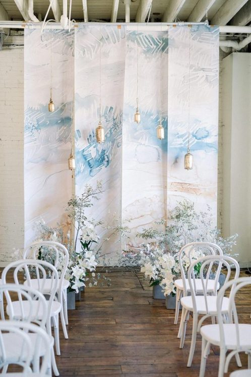 oformlenie-svadby-v-morskom-stile-20-498x747 Оформление свадьбы в морском стиле, картинка, фотография