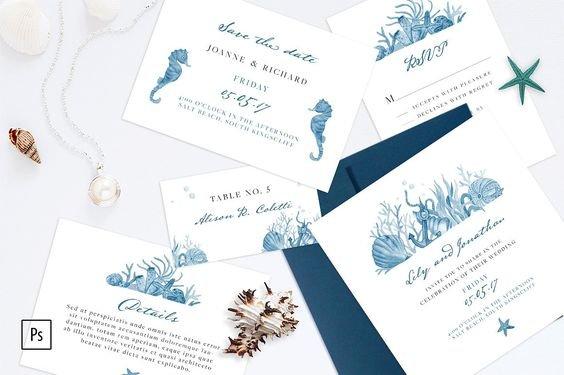 oformlenie-svadby-v-morskom-stile-31 Оформление свадьбы в морском стиле, картинка, фотография
