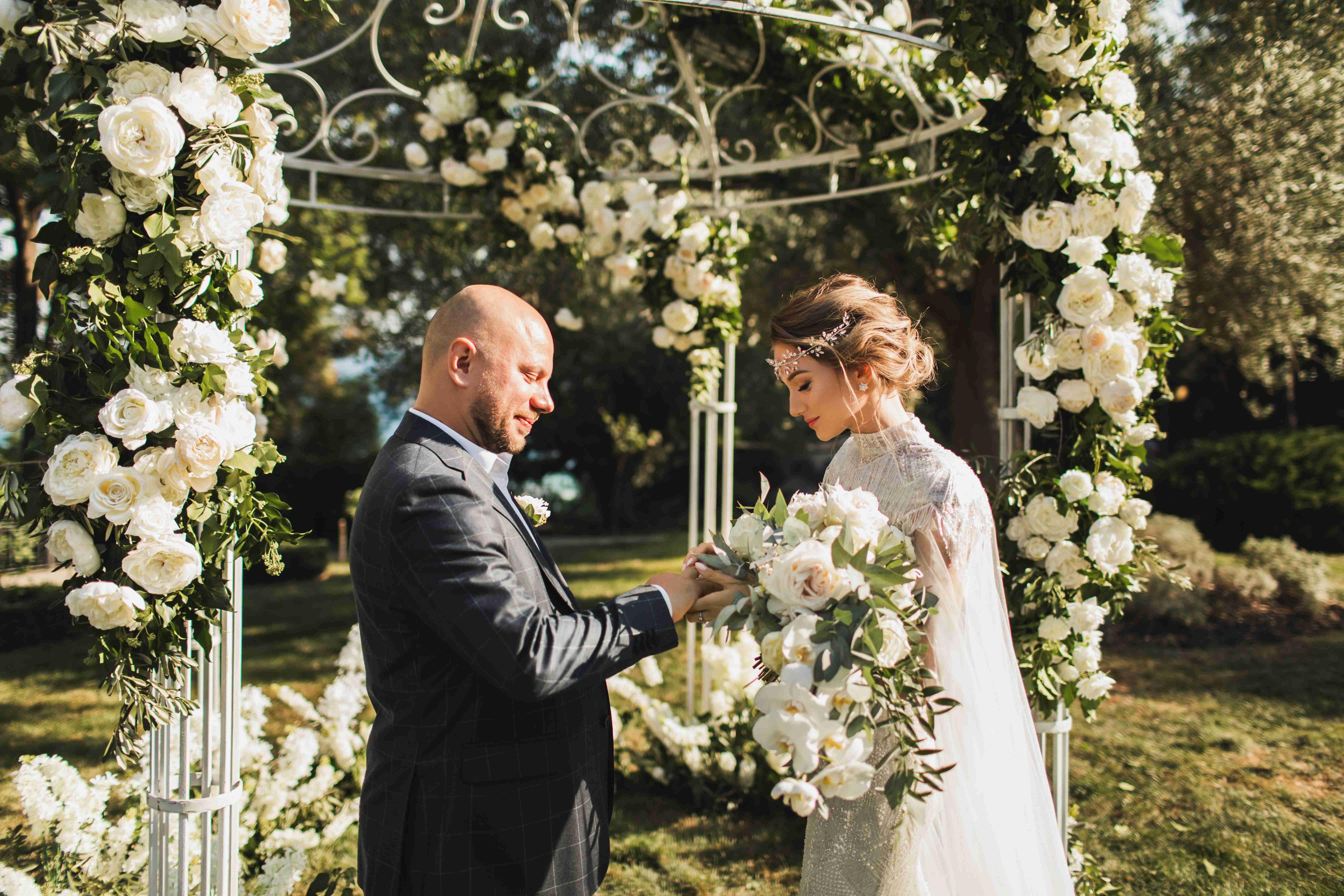 свадьба в шатре в Ялте